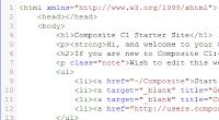 Code Mirror - интегрированный редактор HTML-кода в Composite C1