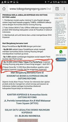 Dapatkan Pinjaman Tanpa Jaminan KSU Gotong Royong