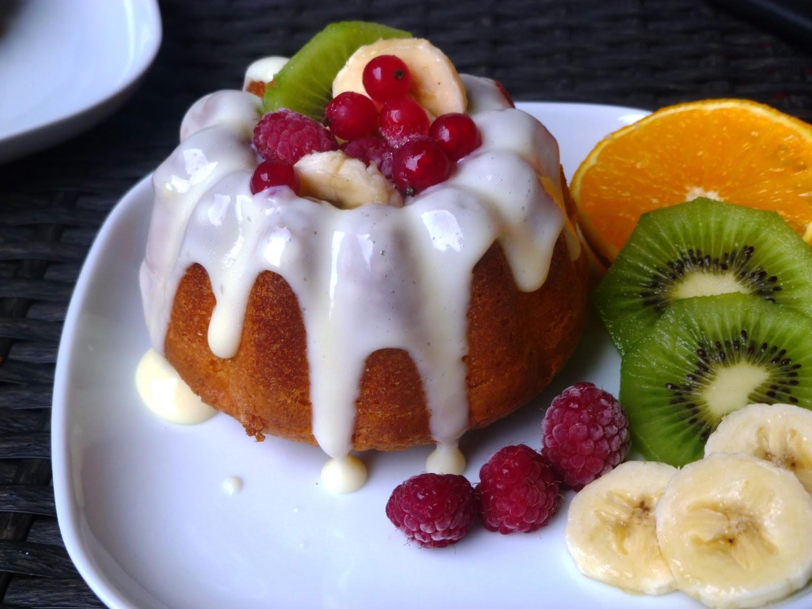 Inser Kuchlbiachl Minigugelhupf Mit Selbstgemachten Vanillepudding