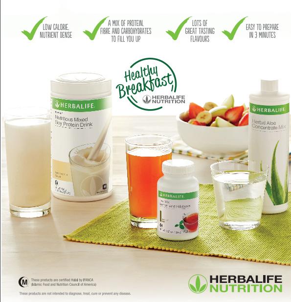 Pakej dan senarai harga produk Herbalife Malaysia