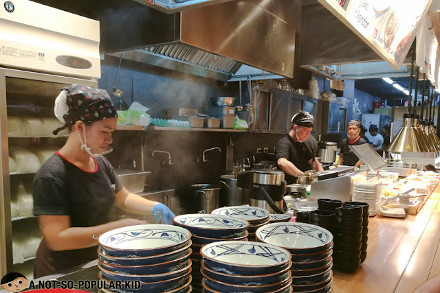 Kitchen Marugame Udon in Bonifacio High Street