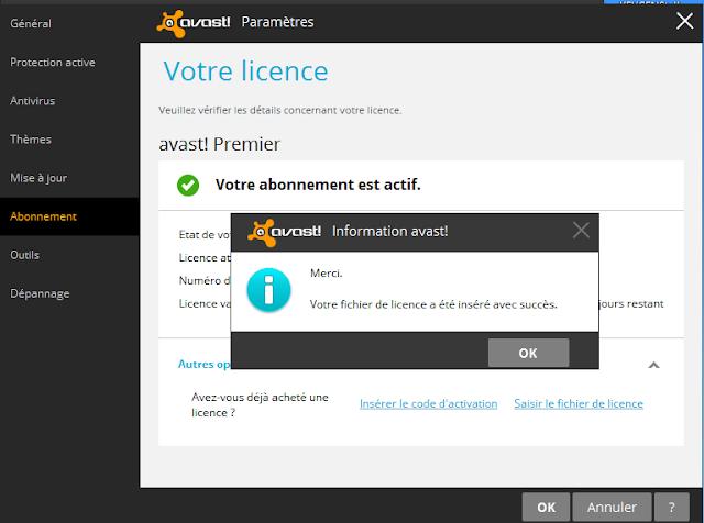 License Key Avast! Internet Security[till 2050-13184 Days ...