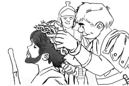 Portal Escuela Le Ponen Una Corona De Espinas A Jesus Dibujo Para
