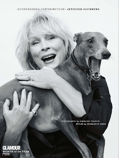 JENNIFER SAUNDERS, kenny campbell, makeup, artist, agency, management, woman of the year, berlin, london, glamour uk