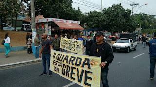 Guarda Municipal de São Gonçalo (RJ) volta a entrar em greve