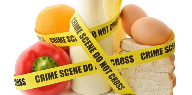 Zat Perusak tubuh dalam makanan