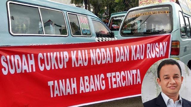 Tuh Kan! Dianggap Langgar Aturan, Resmi Anies Baswedan Dilaporkan ke Polisi Karena Tutup Jalan Jatibaru untuk PKL Tanah Abang