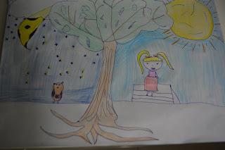 Dibujo niña