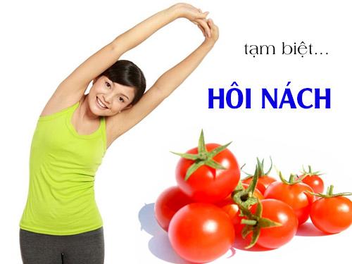 2 cách trị hôi nách bằng cà chua hiệu quả tại nhà