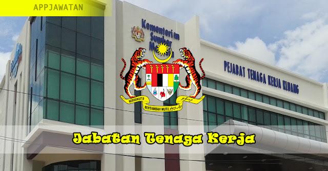 Jawatan Kosong di Jabatan Tenaga Kerja Malaysia - 31 Januari 2019