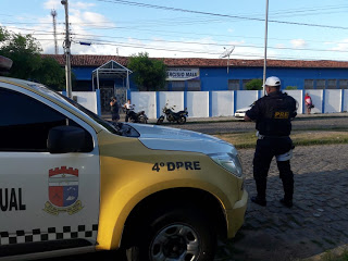 Major Brilhante diz que 4º DPRE intensificará patrulhamento próximo as Escolas de Pau dos Ferros