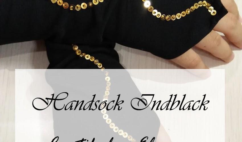 Handsock Indblack, Cantik dan Elegan Menutupi Auratmu