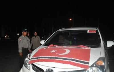 Kapolres Lhokseumawe Tangkap 6 Peserta Konvoi PA Kedapatan Membawa Sabu