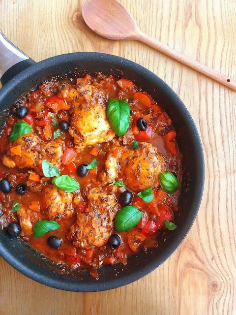 Włoskie ragout z kurczaka / Italian Chicken Ragout