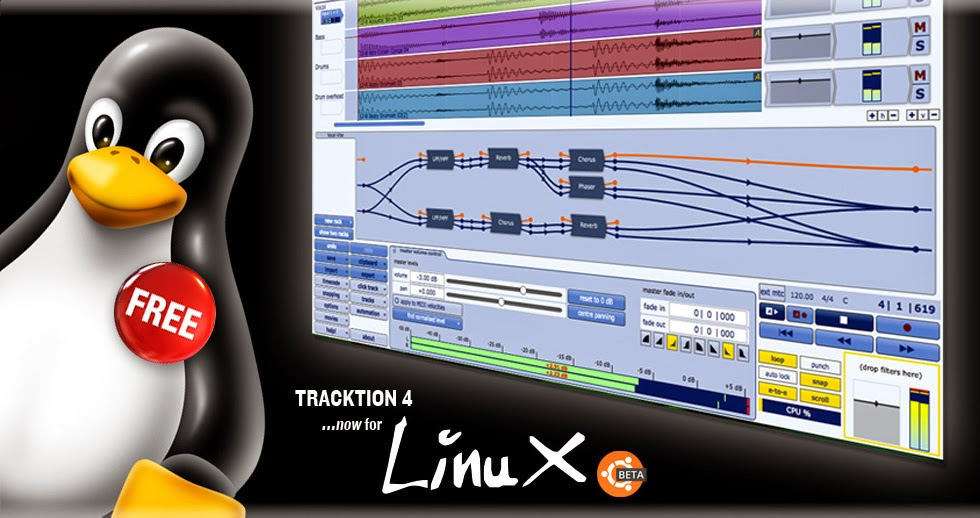 top DAW on linux