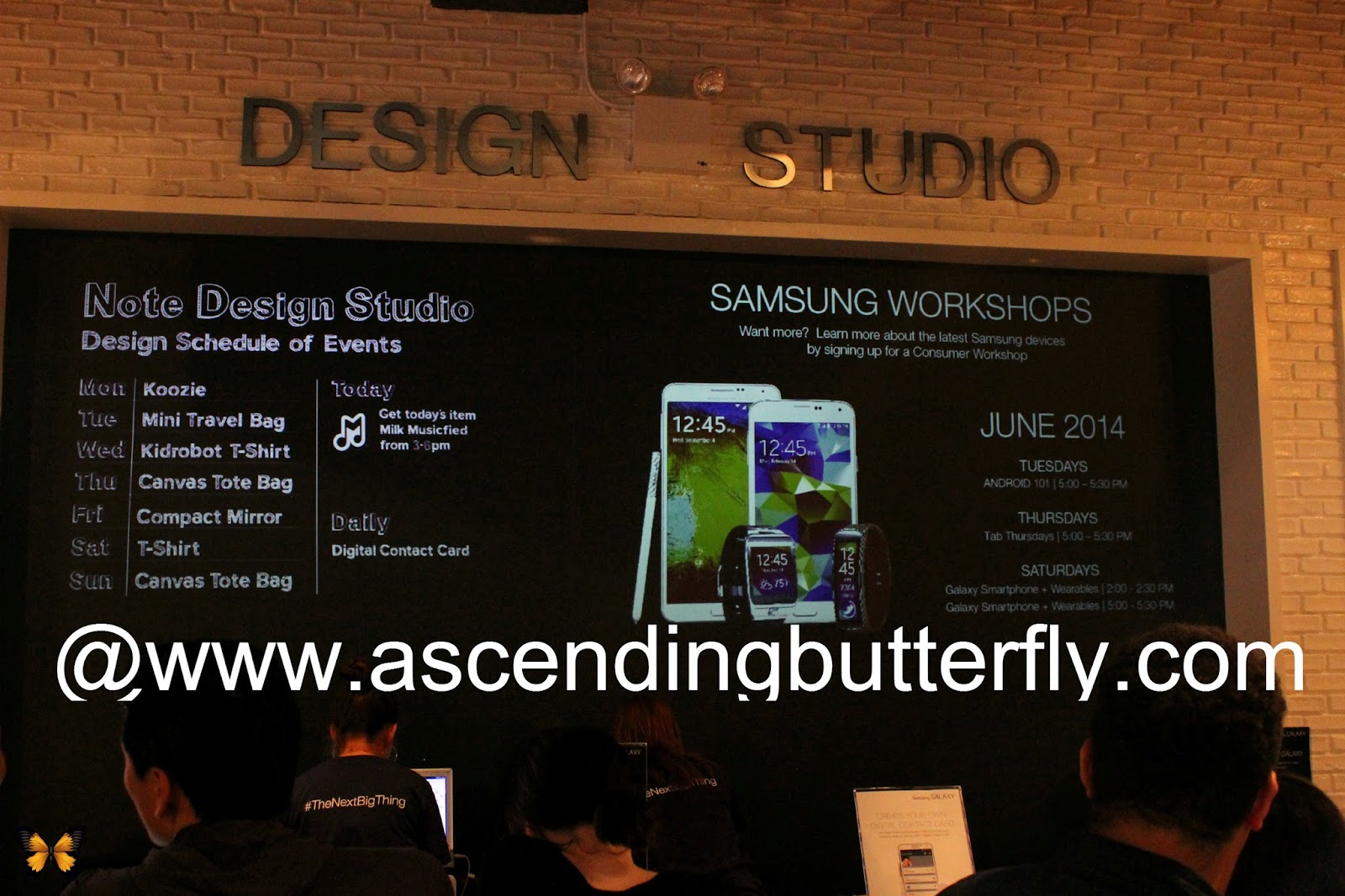 Design Studio at the SoHo Samsung Galaxy Studio