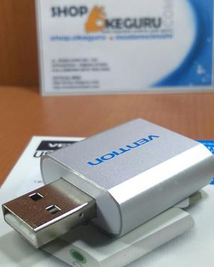 Vention External USB Sound Card AUX 3.5mm