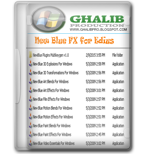 New Blue Fx Full Version For Edius Free Download
