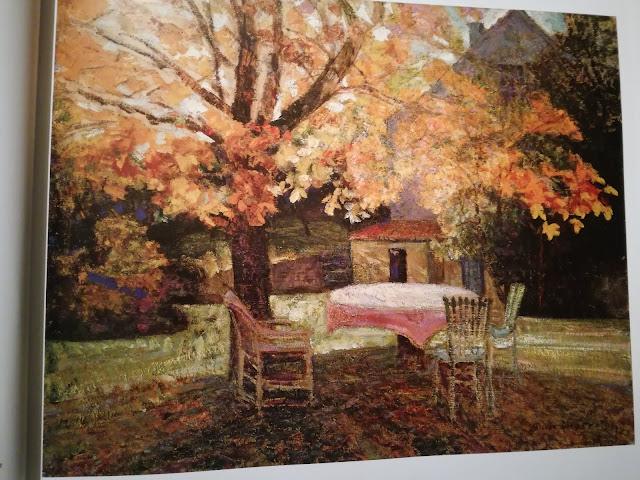 Victor Charreton, Terrace, Autumn
