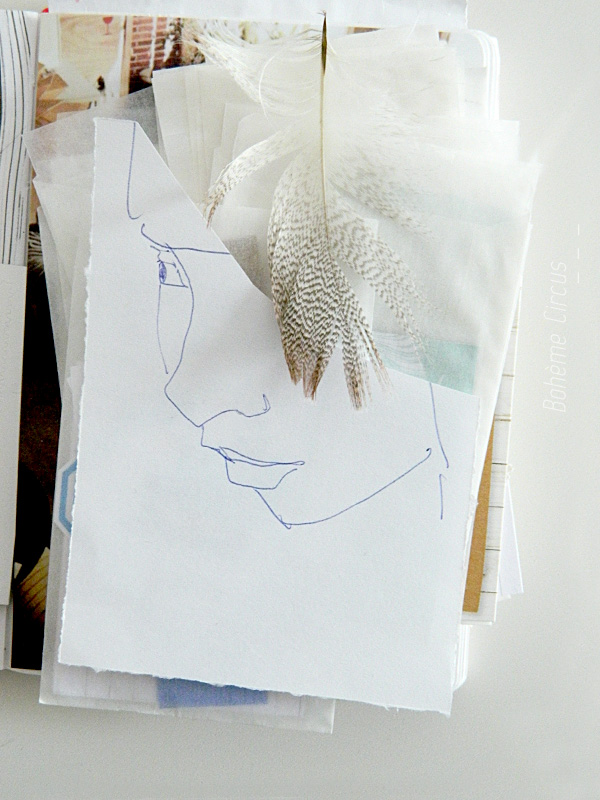inspiration  - creativity - créativité - bohème circus  -  visual journal