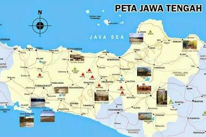 Sejarah Asal usul Terbentuknya Provinsi Jawa Tengah, Indonesia