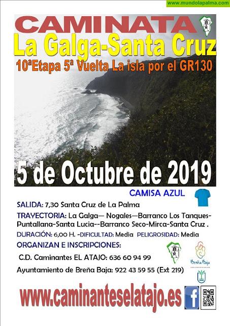 """EL ATAJO: """"La Galga (Puntallana) - Santa Cruz de La Palma"""""""