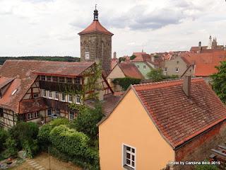Muralha Rothenburg ob der Tauber