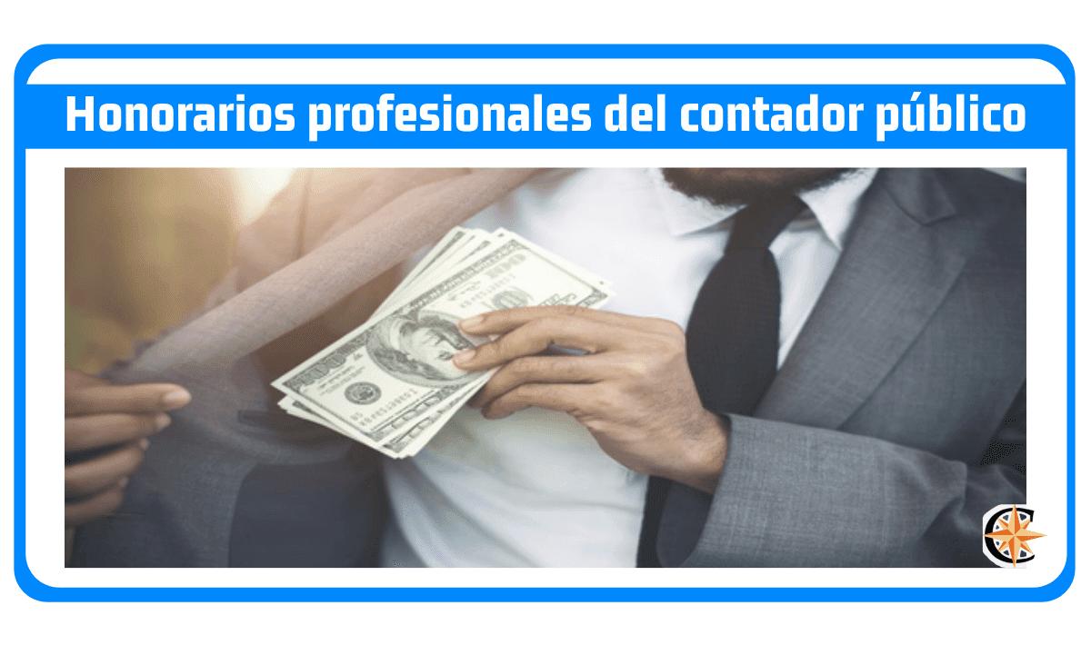 Honorarios profesionales del contador público