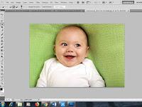 Cara Membuat Foto KTP / Teknik Seleksi Foto Menggunakan Quick Selection Tool