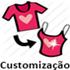 Customização (aparece ao passar o mouse)