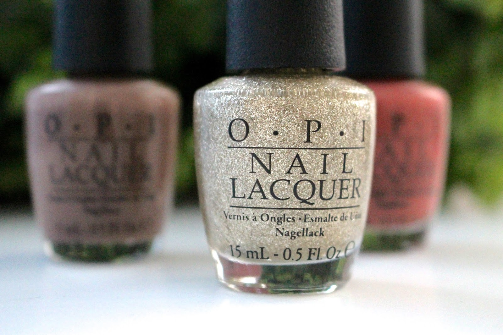 OPI My Favourite Ornament Blog Review Nails
