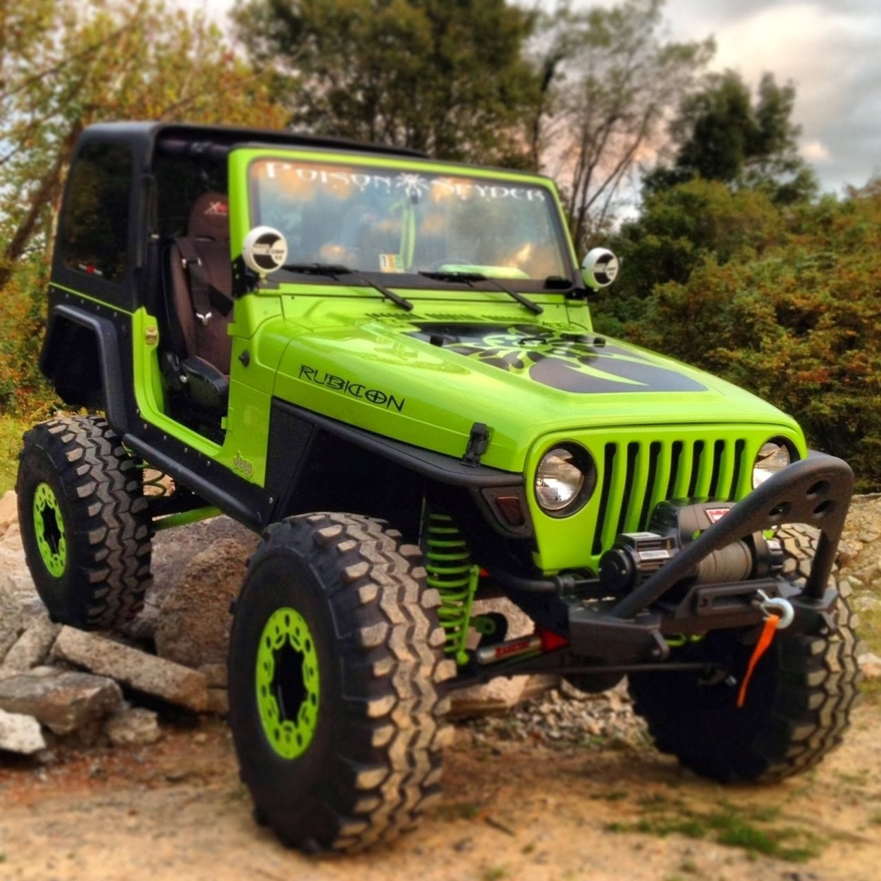The Coolest Custom 1997 Jeep Wrangler