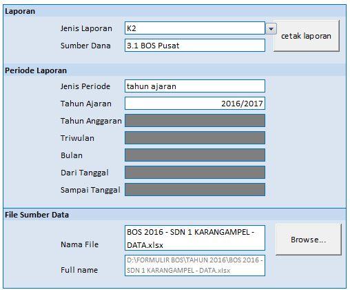 Aplikasi LPJ Keuangan BOS (ALPEKA BOS) Tingkat Sekolah dan Cara Penggunaanya