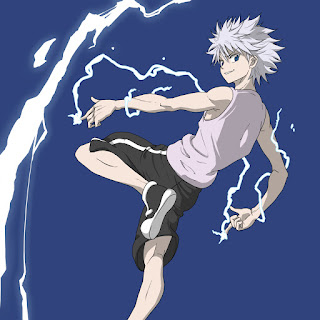 Killua Zoldyck from Hunter X Hunter