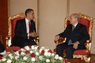 Devlet Bahçeli ve Obama