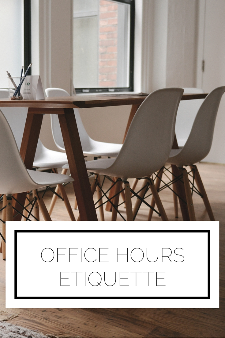 Click to read now or pin to save for later! Getting some extra help in office hours? Here's the etiquette you need to know