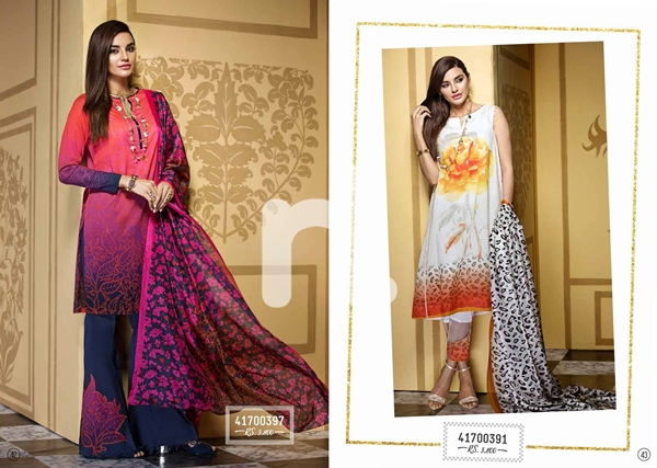 Nishat Linen Latest Eid Collection For Women 2017