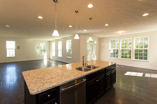 It 39 s ours ryan homes olsen model pictures completely christi for Kitchen morning room designs