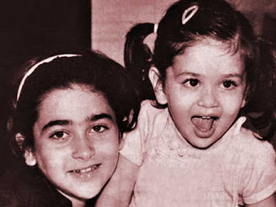 karishma and kareena childhood pictures