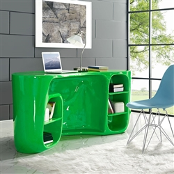 Bright Green Office Desk