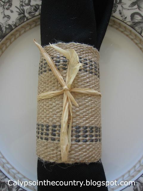 Easy DIY Jute napkin ring