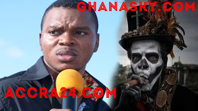 [VIDEO] Bishop Obinim's Spiritual Fetish Priest Father Speak-Out