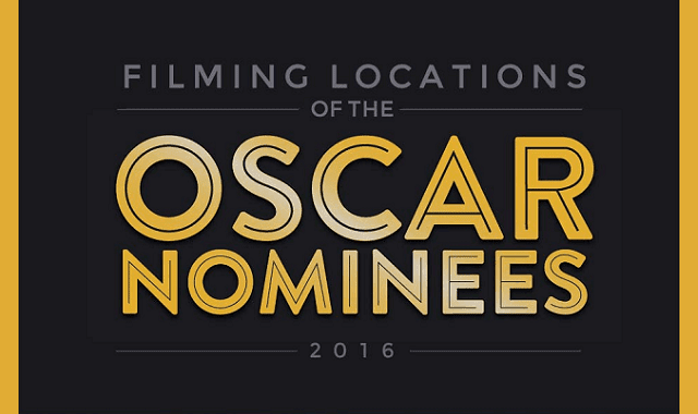 Filming Locations of the Oscar Nominees