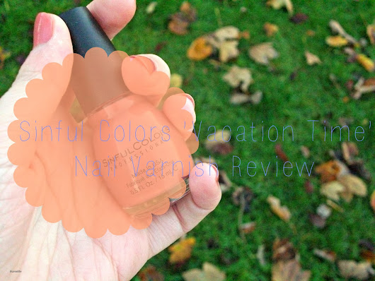 Sinful Colors 'Vacation Time' Nail Varnish Review