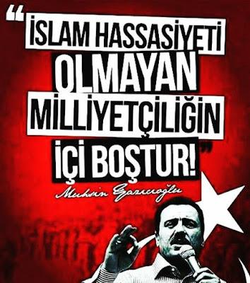 islam, milliyetçilik, kavmiyetçilik, muhsin yazıcıoğlu, güzel sözler, özlü sözler, anlamlı sözler,
