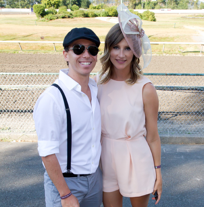 Vancouver Fashion Blogger Alison Hutchinson and her boyfriend Oliver Cavanna