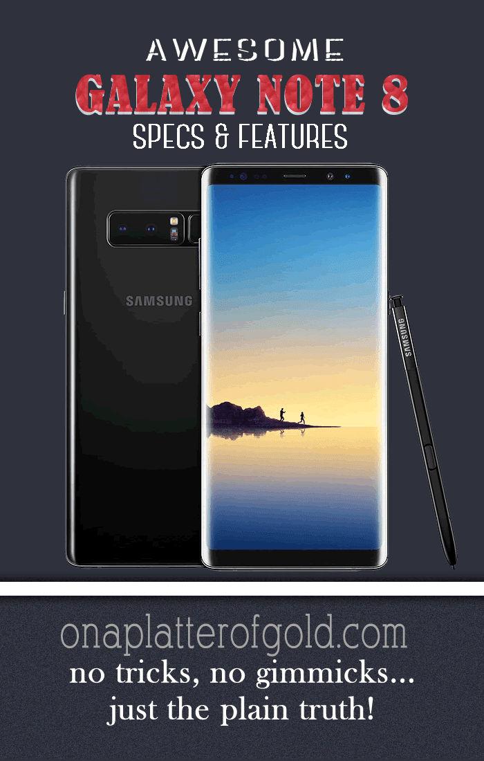 Samsung Galaxy Note 8 Specs And Features You Will Probably Love