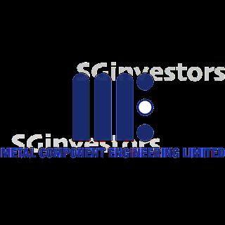 METAL COMPONENT ENGG LTD (5DX.SI) @ SG investors.io
