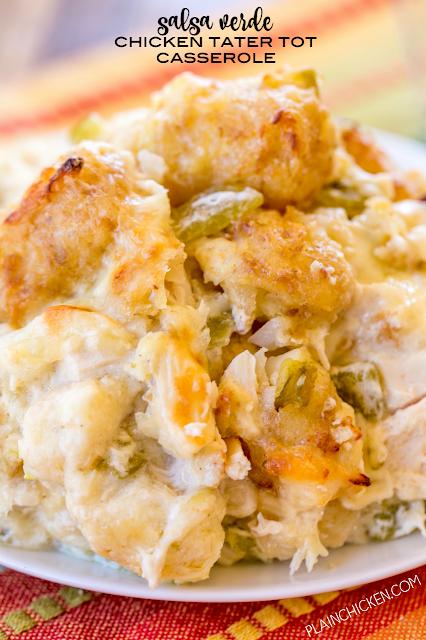 recipe: salsa verde chicken casserole [28]