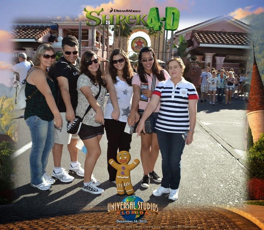 Universal Studios Shrek 4D